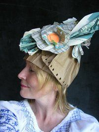 paper hats by Alyn Carlson