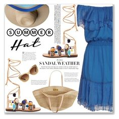 Summer Hat by mood-chic on Polyvore featuring polyvore fashion style Designers Remix Mabu by Maria BK Flora Bella Satya Twena Coach clothing summerhat