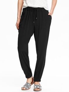 Women's Cinched Soft Pants