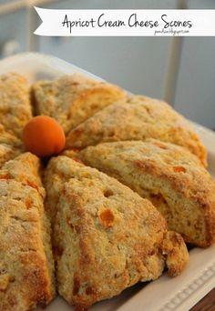 Jo and Sue: Apricot Cream Cheese Scones