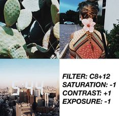 For more filters, FOLLOW ME! Pinterest: @andrebaol