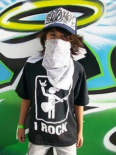 my future graffiti artist @ Black Book Sessions w/ Famous Stars and Straps