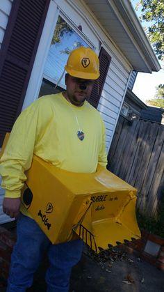 Paw Patrol Adult Rubble costume