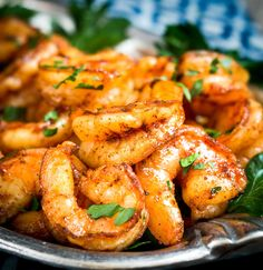 Sensational Baked Blackened Shrimp Recipe is delicious and so versatile. It makes a great appetizer or is perfect for tacos or on pasta.