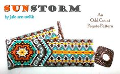 Click the link to learn more. Bead Loom Patterns, Beaded Jewelry Patterns, Peyote Patterns, Bracelet Patterns, Beading Patterns, Peyote Beading, Beaded Bracelets, Bracelet Men, Peyote Stitch