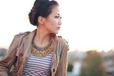 Casual metal :: Statement necklace
