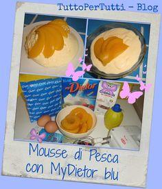 TuttoPerTutti: MOUSSE DI PESCA CON MyDIETOR BLU Una fresca mousse preparata con MyDietor Blu, una dolce delizia! http://tucc-per-tucc.blogspot.it/2015/07/mousse-di-pesca-con-mydietor-blu.html