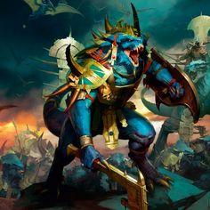 Warhammer battle-men lezards-skinks-body 3