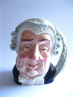 #Lawyer Royal #Doulton Character Toby Jug by #TheSnapDragonsLair @snapdragonslair