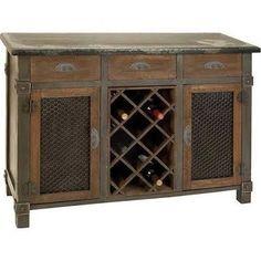 Home Decorators Dolcetto Wine Cabinet - Wine Storage Cabinets