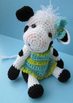 Cute Cow Crochet Pattern | Craftsy
