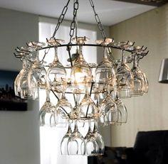 DIY Wine Glass Rack Hanging Type — Home Design Inspirations