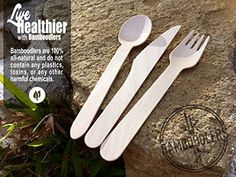 Wooden Fork, Wooden Spoons, Plastic Pollution, Cutlery Set, Utensils, Biodegradable Products, The 100, Eco Friendly, Awesome