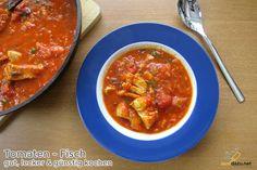 Tomaten – Fisch Rezept