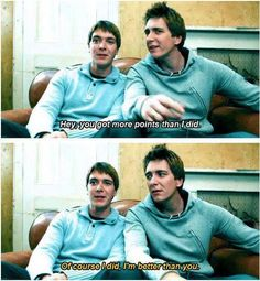 James and Oliver Phelps haha love them