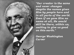 George Washington Carver Quotes