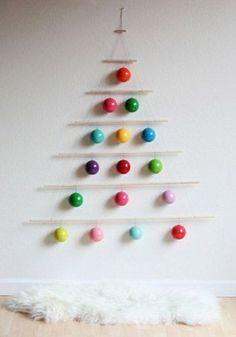 DIY Modern Ornament Tree