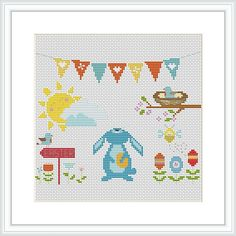 This is an Instant Download PDF Cross Stitch Pattern.  ***WINTER SALE***  * Buy ANY 2 patterns and get 1 FREE* * Buy ANY 3 patterns and get 2 FREE* * Buy ANY 4 patterns and get 3 FREE*  *(Only READY patterns) *If you have any problems or need help, please contact me! ---------------------------------------  Stitch Counts of embroidered image: 100 wide x 80 high Colors Used: 25  I recommend using 14 count Aida fabric with 3 strands of DMC floss. If you want the project to be smaller, use 18…