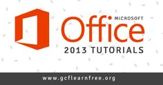 In 2013, Microsoft released the latest version of its Office software suite, Office 2013. It also released Office 365 Home, a subscription-based version of Office that gives you more features and access. These free tutorials from GCFLearnFree.org will guide you toward learning these programs better. #office #elearning