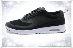Noir / Blanc Nike Air Max Thea Print 599408-233 Hommes