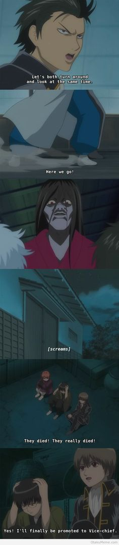 Gintama ~~ Things Friends Say On A Visit To A Haunted House