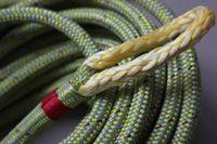 Tutorial: Hoe maak je een oogsplits in een dubbelgevlochten lijn met dyneema kern? #sailing #zeilen #DIY #knot  #dyneema #ropes http://www.lijnenspecialist.nl