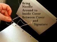 How to Assemble Your Book then Bind it with Coptic Stitch
