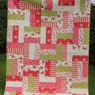 Verna Mosquera Fence Rail Quilt..option for my scrumptious layer cake!