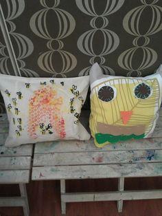 Super cute pillows at www.lollipopartlounge.com