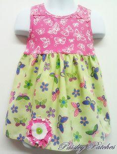 Butterfly T-dress