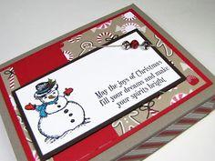 Maddiebug Designs - Joy of Christmas box - Stampin' Up!, 3d, Christmas Magic