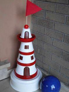 tont pfe zum basteln verwenden so gelingt ein leuchtturm. Black Bedroom Furniture Sets. Home Design Ideas