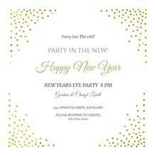 Corner Shots New Year Invitation Customize It Edit Add Text And Print