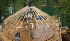 Blue Ridge Yurts - Home Page