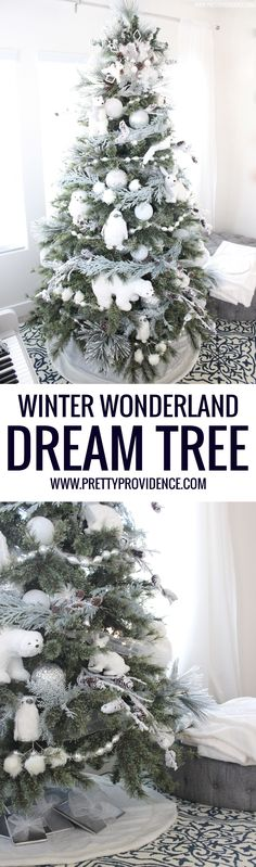 Totally in love with this winter wonderland dream tree! So fun for the kids, and still beautiful for me! #michaelsmakers #dreamtreechallenge #makeitwithmichaels @michaelsstores