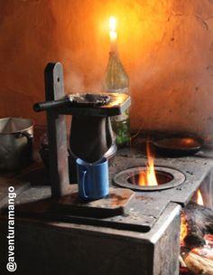 Café no fogão a lenha