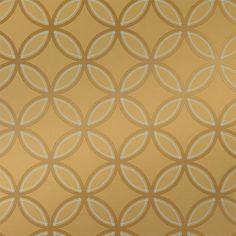 Kirkos Wallpaper in Metallic Gold