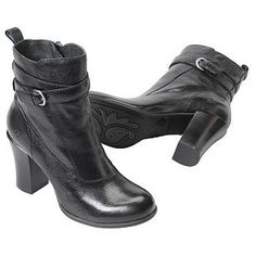 BORN Chyler Boots (Black) - Women's Boots - 10.0 M