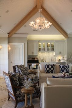 Pool house chic, Cleveland. Jones Group Interiors.
