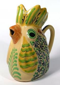 Rooster Pitcher from Mexico.