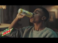 """Mtn Dew Kickstart: It All Starts with a Kick """"Come Alive"""" Extended Commercial 