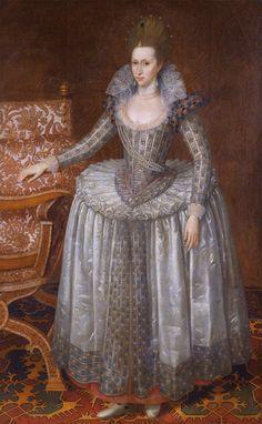 Anne of Denmark, John de Critz the elder National Portrait Gallery, London Anne Of Denmark, Isabel I, House Of Stuart, Renaissance Era, Adele, National Portrait Gallery, Art Uk, Historical Clothing, Historical Costume