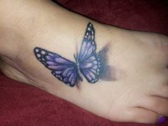 My tattoo 3d butterfly