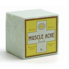 Aromatherapy Bath Cube ( Muscle Ache )