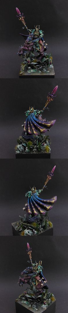 Warriors of Chaos Sorcerer of Tzeentch