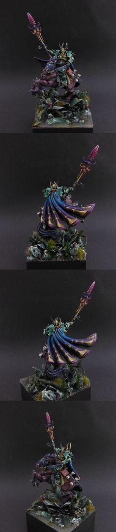 Warriors of Chaos Sorcerer of Tzeentch