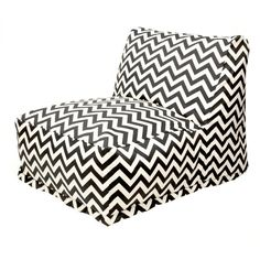 So much for for a kids room // Madeline Bean Bag Chair in Black