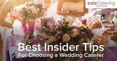 Best Insider Tips for Choosing a Wedding Caterer Wedding Reception Food, Wedding Catering, Picture Blog, Wedding Countdown, Singapore, Roast, Ethnic Recipes, Tips, Roasts