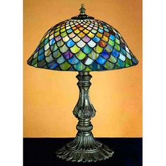 Stained Glass lamp                                                                                                                                                                                 Más