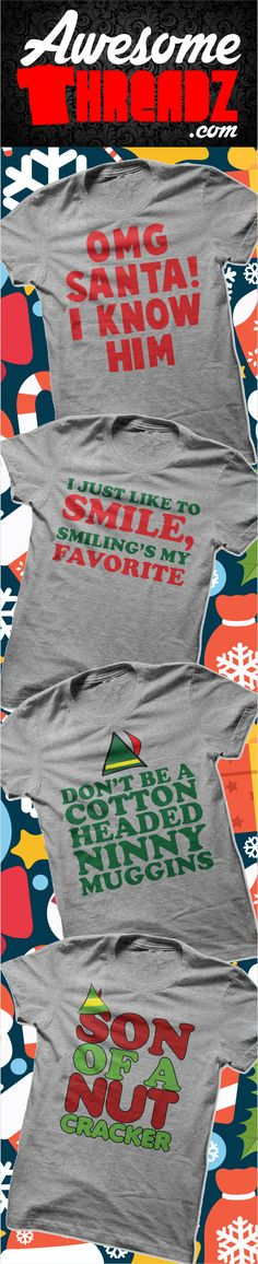 Find Your Favorite New Christmas Shirt Here! Dozens Of Shirts To Choose From. Awesome Threadz #tshirt  #hoodie #womenstshirt #tee #awesomethreadz #shirt #funnytshirt #birthdaygift #christmasgift #funny #gift #tshirts #santa #christmas